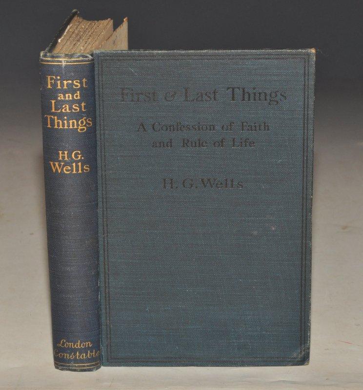 Image for First & Last Things. A Confession of Faith and Rule of Life.
