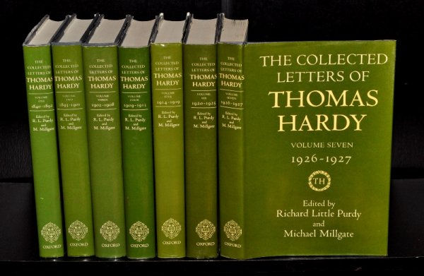 Image for The Collected Letters of Thomas Hardy. 1840 - 1927. Complete 7 volume Set. SIGNED