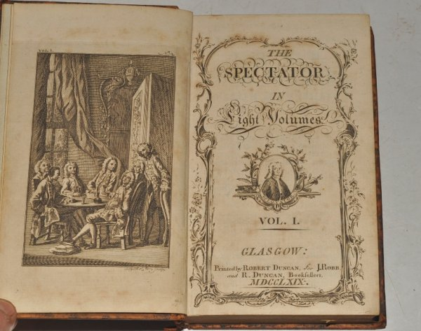 Image for The Spectator. In Eight Volumes. (No.1 - 635, 1710-14.)