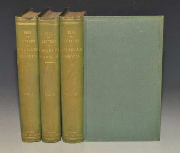 Image for The Life and Letters of Charles Darwin Including an Autobiographical Chapter. Edited by His Son Francis Darwin. In Three Volumes.