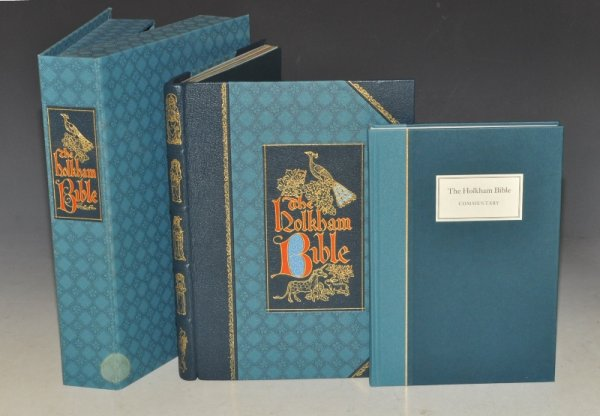 Image for The Holkham Bible Limited Numbered Edition. 2 Vols. Cased.