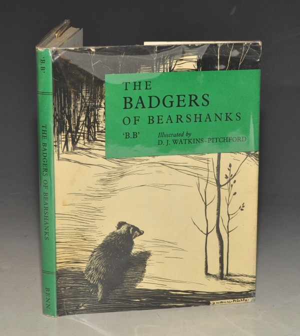 Image for The Badgers of Bearshanks. Illustrated by D. J. WATKINS-PITCHFORD.