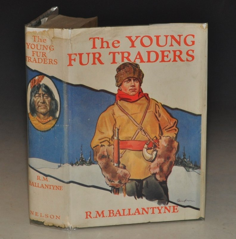 Image for The Young Fur Traders. Colour Plates.