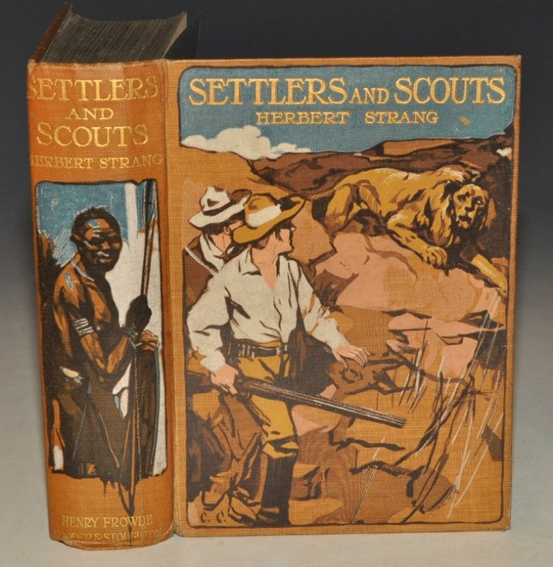 Image for Settlers and Scouts. A Tale of the African Highlands. Illustrated by T. C. Dugdale.