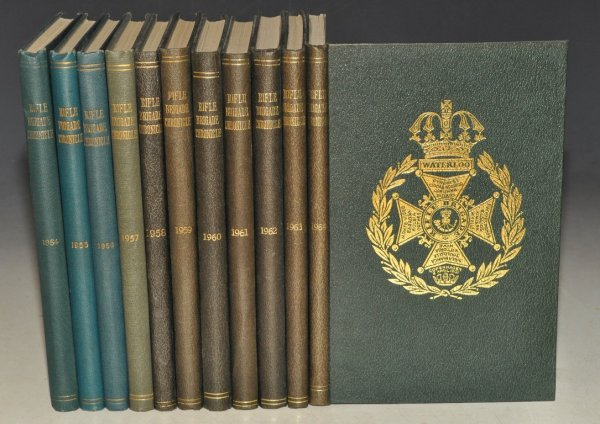 Image for The Rifle Brigade Chronicle for 1954 - 1964. (Sixty-Fifth Year to Seventy-Fifth Year.) Eleven Volumes.