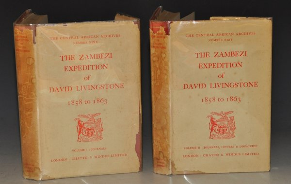 Image for The Zambezi Expedition of David Livingstone 1858-1863. Two Volumes. Journals, Letters and Dispatches. Central African Archives, Oppenheimer Series, Number Nine.