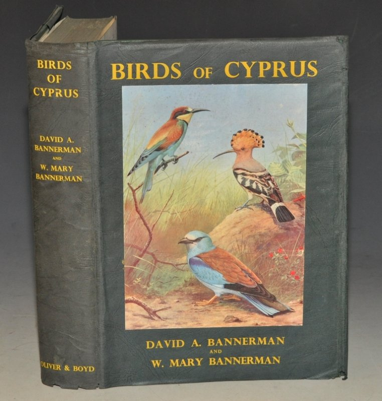 Image for Birds of Cyprus. Illustrated in colour by D. M. Reid-Henry and Roland Green.