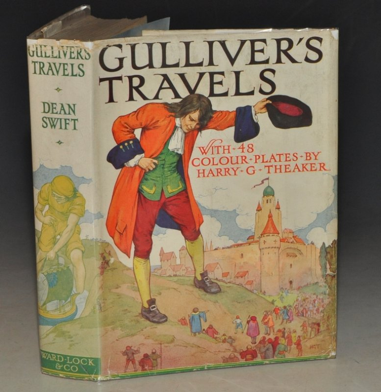 Image for Gulliver's Travels. With 48 colour plates by Harry G. Theaker.