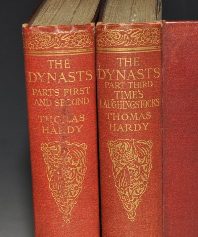 Image for The Dynasts, An Epic-Drama of the War with Napoleon, in Three Parts, Nineteen Acts, and one Hundred and Thirty Scenes. The time covered by the action being about ten years. Parts First and Second. And Time's Laughingstocks and Other Verses. Wessex Edition.