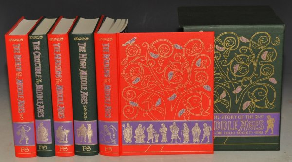 Image for The Story of the Middle Ages. The Birth...; The Crucible...; The Making...; The High...; The Waning...; Five Volumes in Slipcase.