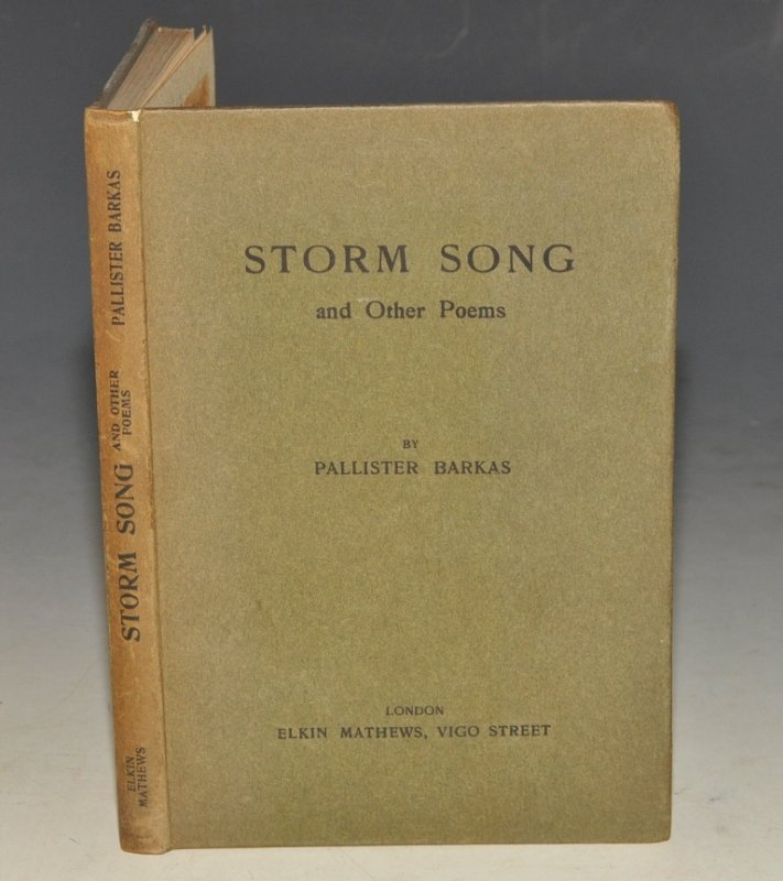 Image for Storm Song, And Other Poems. SIGNED COPY.
