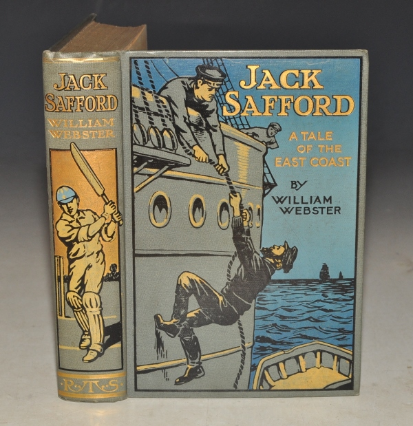 Image for Jack Safford. A Tale of the East Coast. With Coloured Illustrations by Ernest Prater.