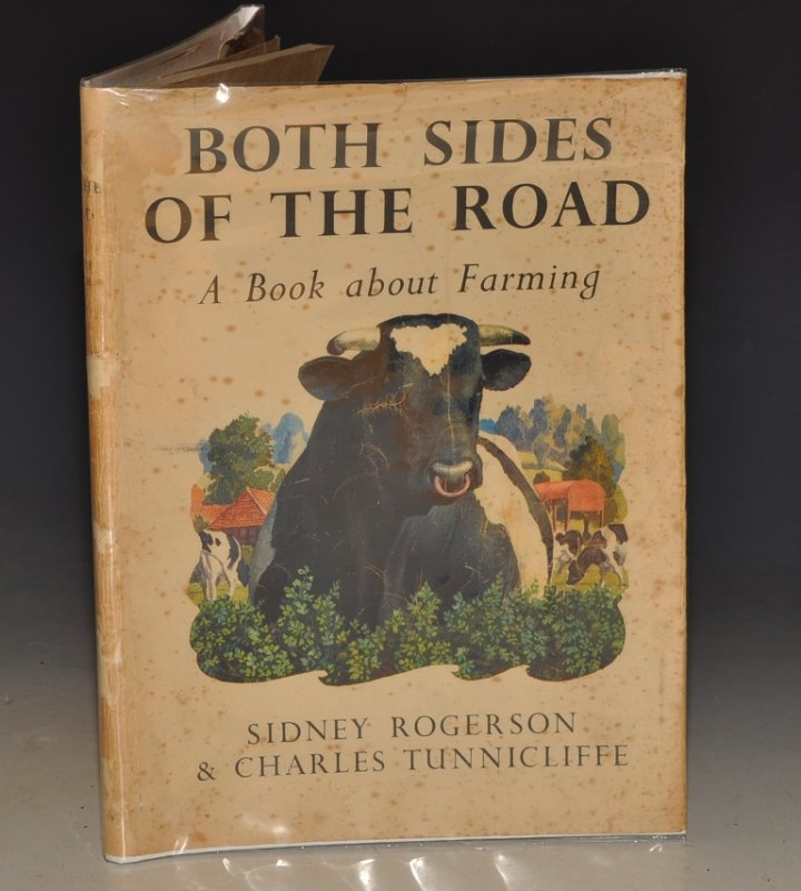 Image for Both Sides of the Road. A Book about Farming. Illustrated by Charles Tunnicliffe. Publisher's Proof Copy.