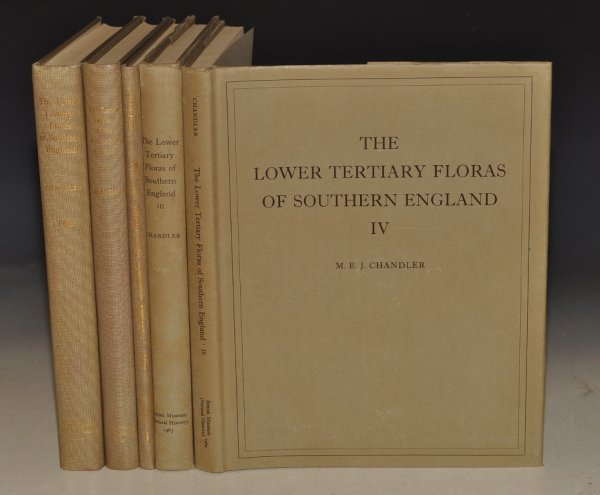 Image for The Lower Tertiary Floras of Southern England. With an Atlas of 34 plates and 54 figures in the text. In Five Volumes.