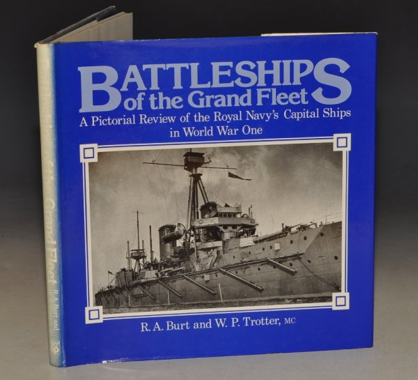 Image for Battleships of the Grand Fleet. A Pictorial Review of the Royal Navy's Capital Ships in World War One.