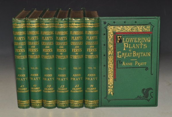 The Flowering Plants, Grasses, Sedges, and Ferns of Great Britain. And Their Allies The Club Mosses, Pepperworts and Horsetails. SIGNED by author.