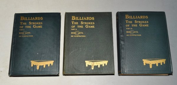 Image for Billiards: The Strokes of the Game. (Copyright.) In Three Volumes.