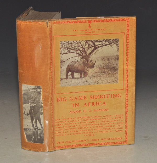 Image for Big Game Shooting in Africa. (The Lonsdale Library Vol. XIV).