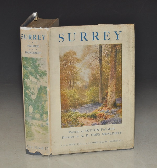 Image for Surrey. Painted by Sutton Palmer. Described by A. R. Hope Moncrieff.
