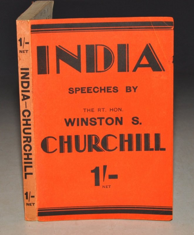 Image for India. Speeches and an introduction by The Rt. Hon. Winston S. Churchill.