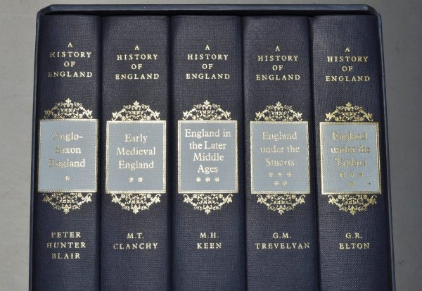 Image for A History of England. Anglo-Saxon England; Early Medieval England; England in the Later Middle Ages; England Under The Stuarts; England Under The Tudors. Five Volumes in Slipcase.