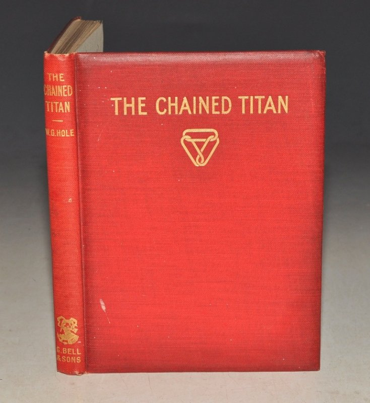 Image for The Chained Titan. A Poem of Yesterday and To-Day.