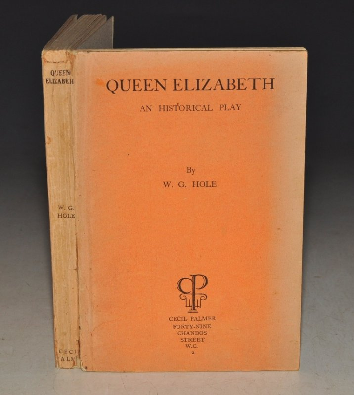 Image for Queen Elizabeth, An Historical Play. In Two Acts. SIGNED.