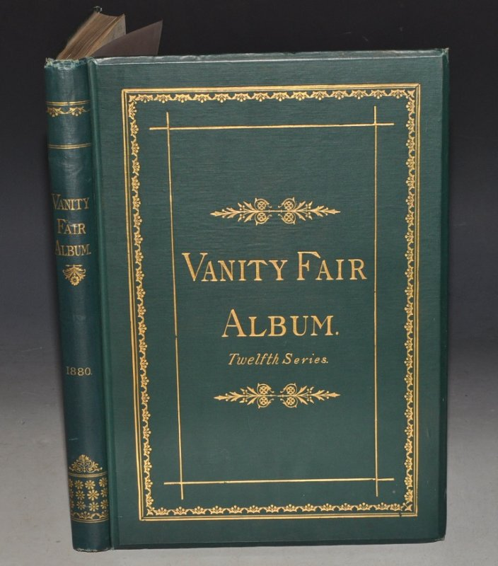 Image for The VANITY FAIR Album. Vol. XII. (12) A Show of Sovereigns, Statesmen, Judges, and Men of the Day. Biographical and Critical Notices by JEHU JUNIOR. Twelfth Series.