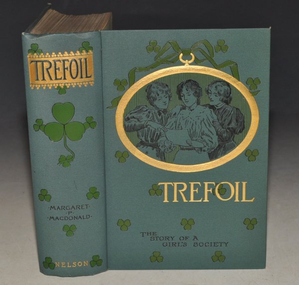 Image for Trefoil, The Story of a Girls' Society. With Six Illustrations by W. H. Margetson.