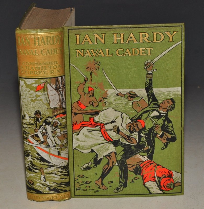 Image for Ian Hardy Naval Cadet. With Illustrations in Colour.