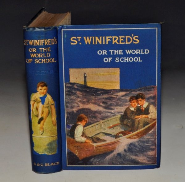 Image for St. Winifred's, or The World of School. New Edition, With Illustrations in Colour.