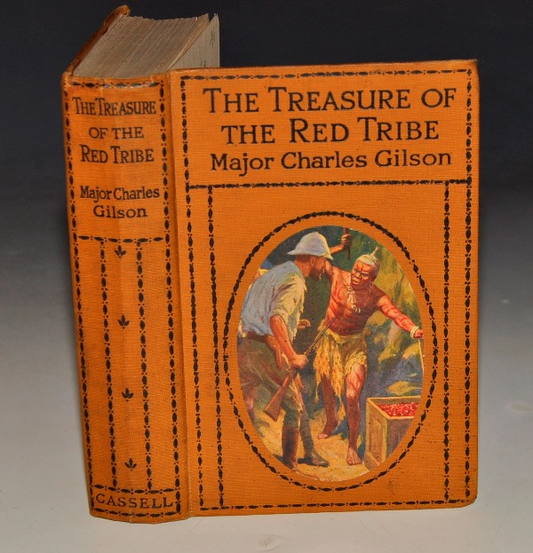 Image for The Treasure of the Red Tribe. With 4 illustrations in Colour and B&W by John de Walton.