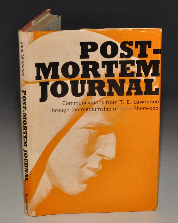 Image for Post-Mortem Journal Communications from T. E. Lawrence.