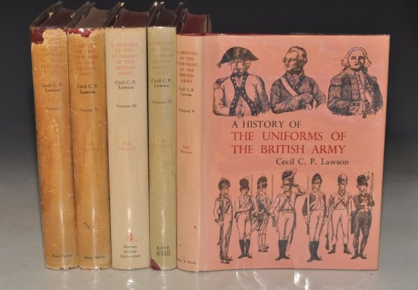 Image for A History of The Uniforms of The British Army. In Five Volumes.