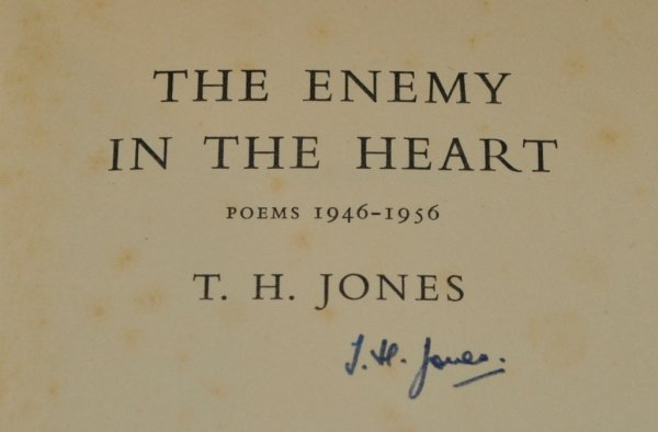 Image for The Enemy in My Heart Poems 1946 - 1956. Signed.