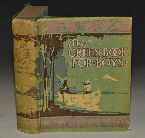 Image for The Green Book For Boys Edited by Herbert Strang.