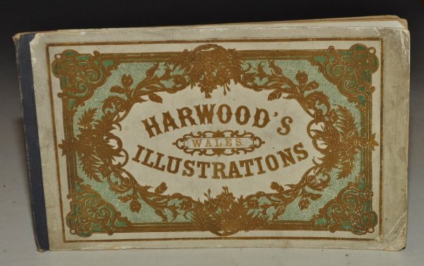 Image for Harwood's Wales Illustrations 6 Engraved Views of Wales.