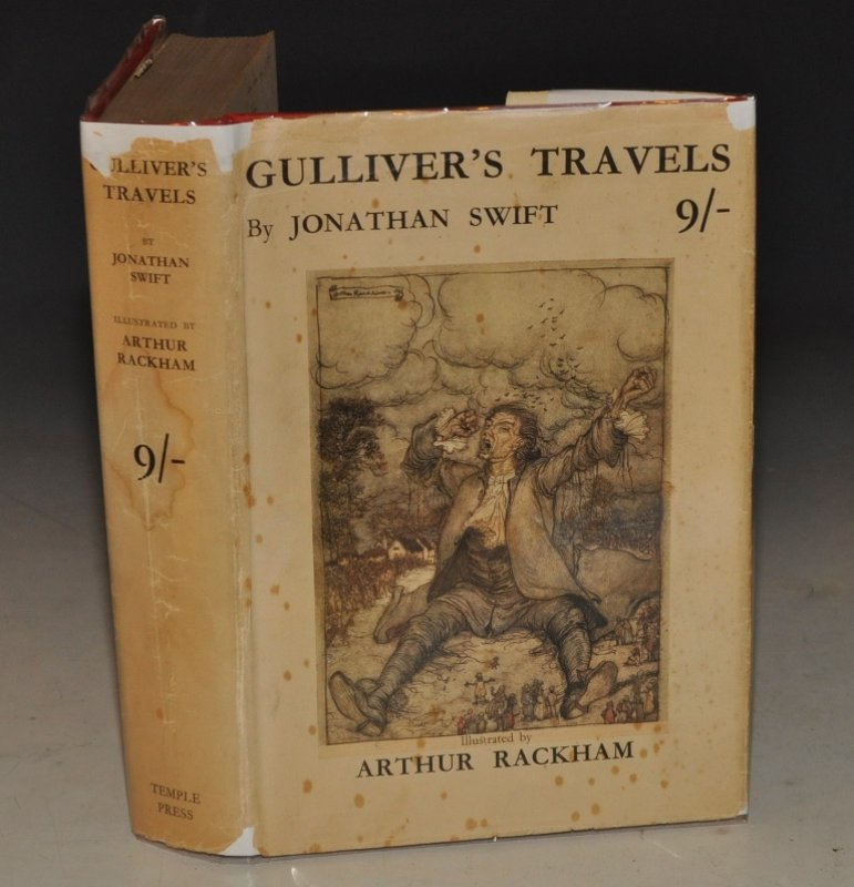 Gulliver's Travels Into several remote parts of the world. Illustrated by Arthur Rackham.