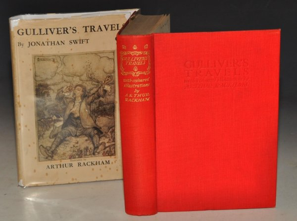 Image for Gulliver's Travels Into several remote parts of the world. Illustrated by Arthur Rackham.