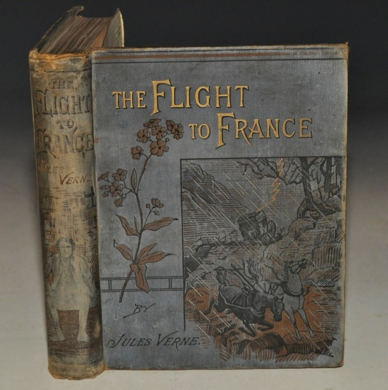 Image for The Flight to France or The Memoirs of a Dragoon. A Tale of the Days of Dumouriez. With Numerous Illustration.