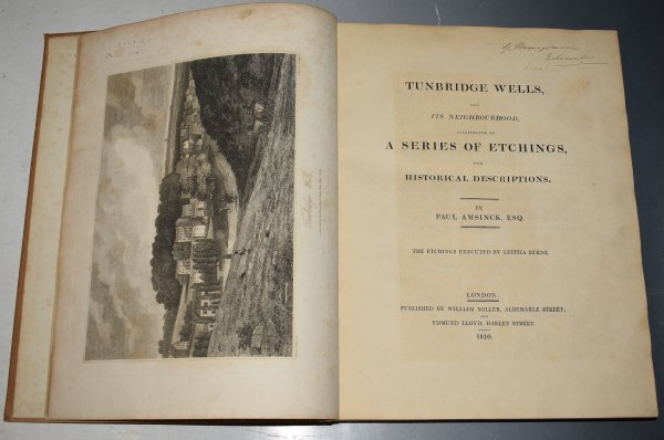 Image for Tunbridge Wells, and its Neighbourhood. Illustrated by a Series of etchings by Letitia Byrne.