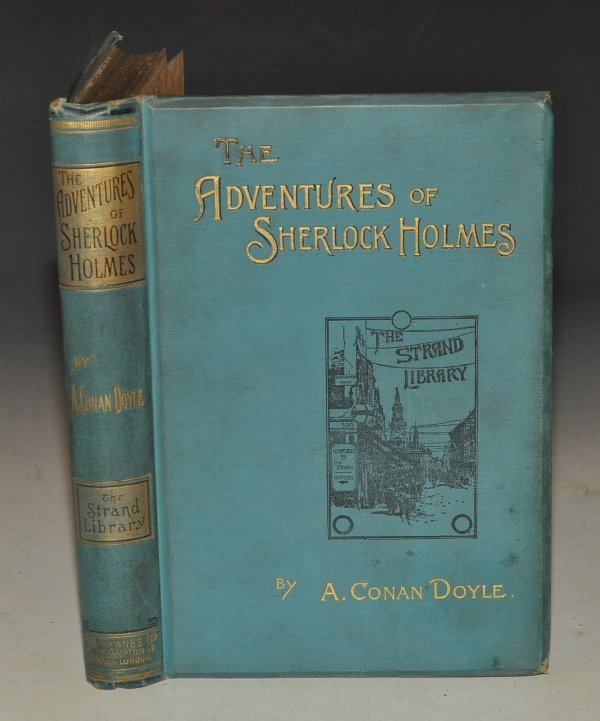 Image for The Adventures of Sherlock Holmes. As appeared in the Strand Magazine. Second Edition.