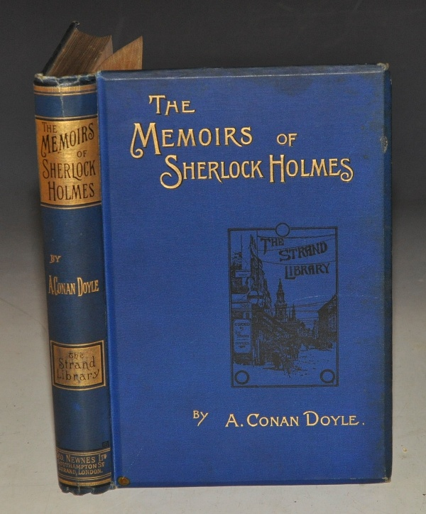 Image for The Memoirs of Sherlock Holmes. Illustrations by Sidney Paget. As appeared in the Strand Magazine.