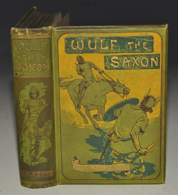Image for Wulf The Saxon. A Story of The Norman Conquest.
