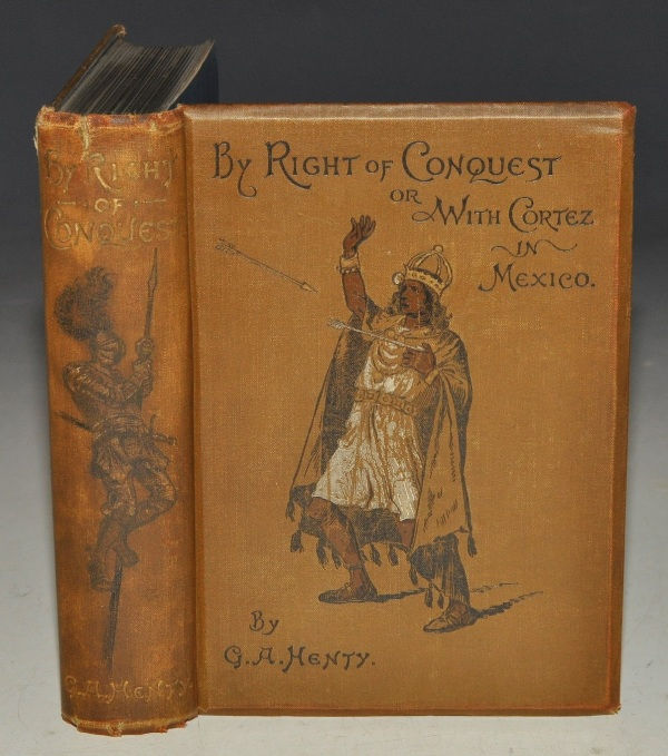 Image for By Right of Conquest. or With Cortez in Mexico. With ten page illustrations by W.S. Stacey and two maps.