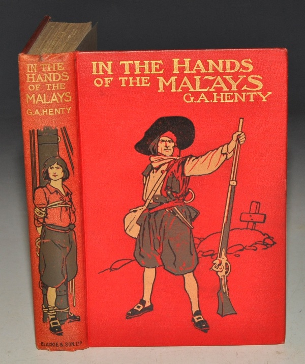Image for In the Hands of the Malays. And other Stories. (On the Track/ A Frontier Girl.)