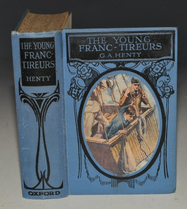 Image for The Young Franc-Tireurs. And their Adventures in the Franco-Prussian War. Illustrated in Colour by T. C. Dugdale.