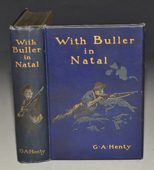 Image for With Buller in Natal or, A Born Leader. With ten illustrations by W. Rainey.