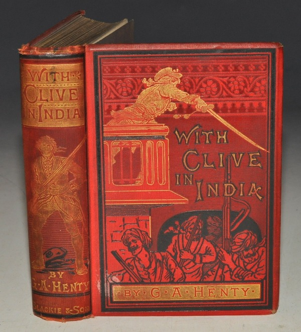Image for With Clive in India. Or, The Beginnings of an Empire. With Twelve Full-Page Illustrations by Gordon Browne.