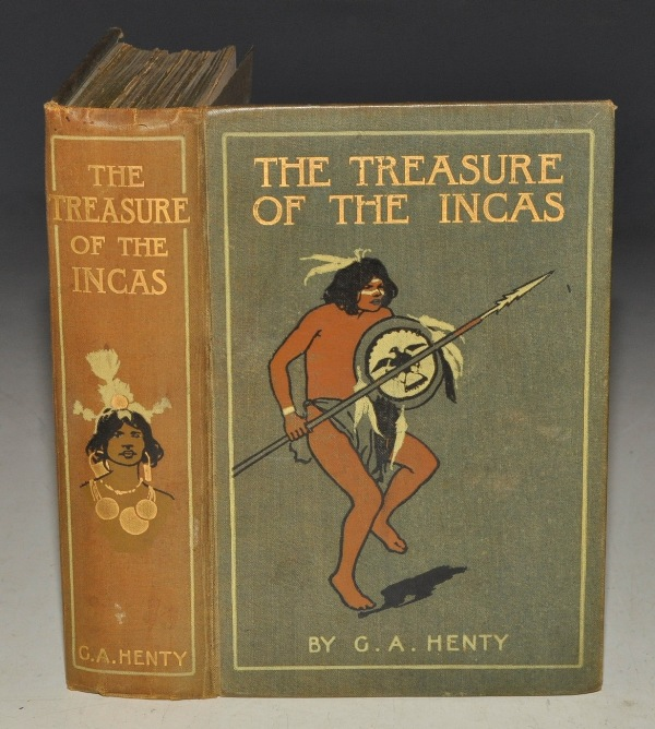 Image for The Treasure of the Incas. A Tale of Adventure in Peru. With eight illustrations by Wal Paget and a map.